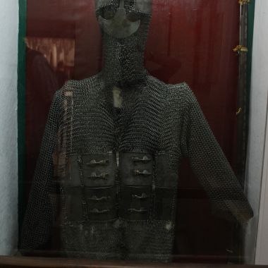Pratap Singh's armour