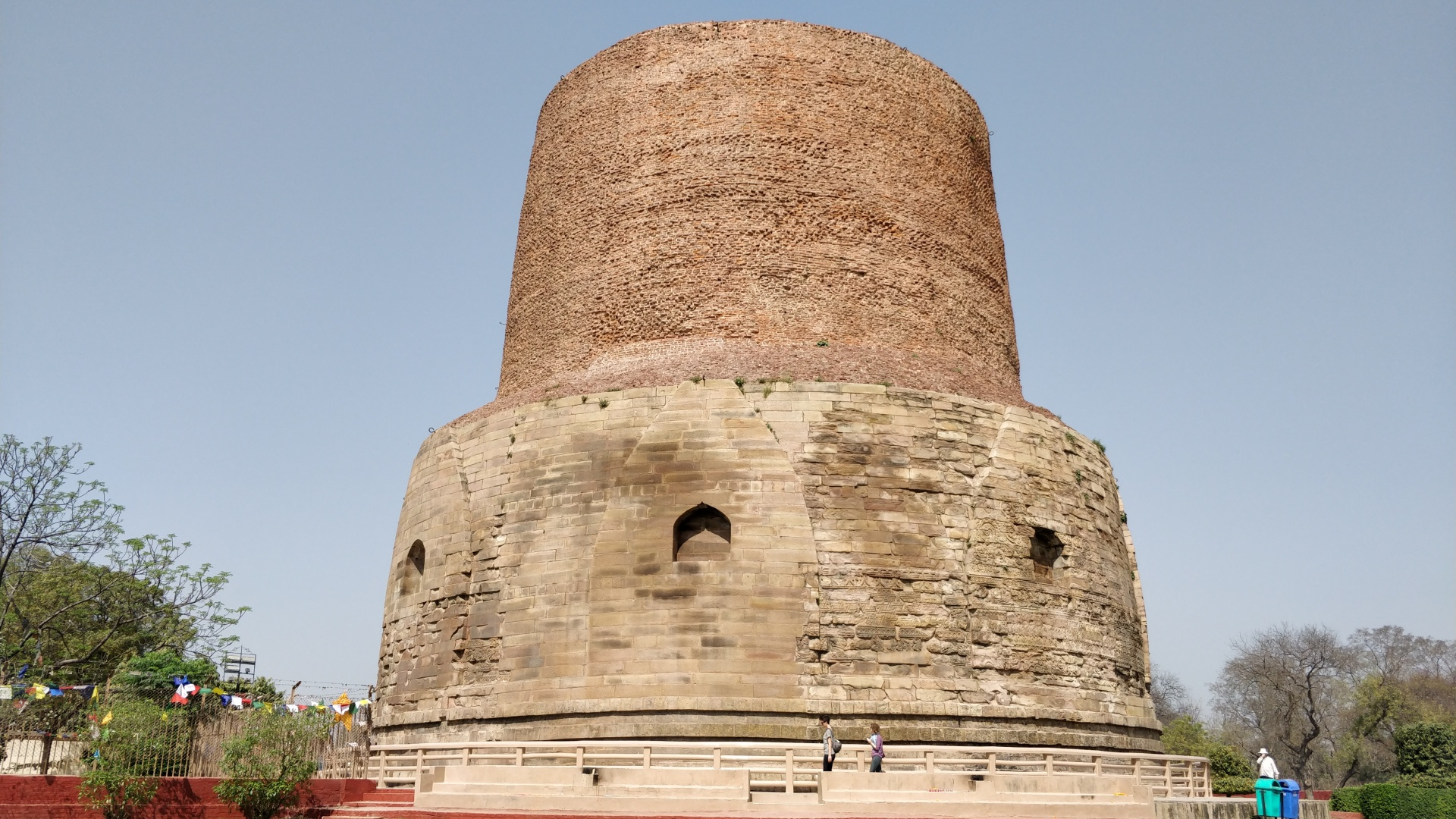 Dhameka Stupa at Sarnath
