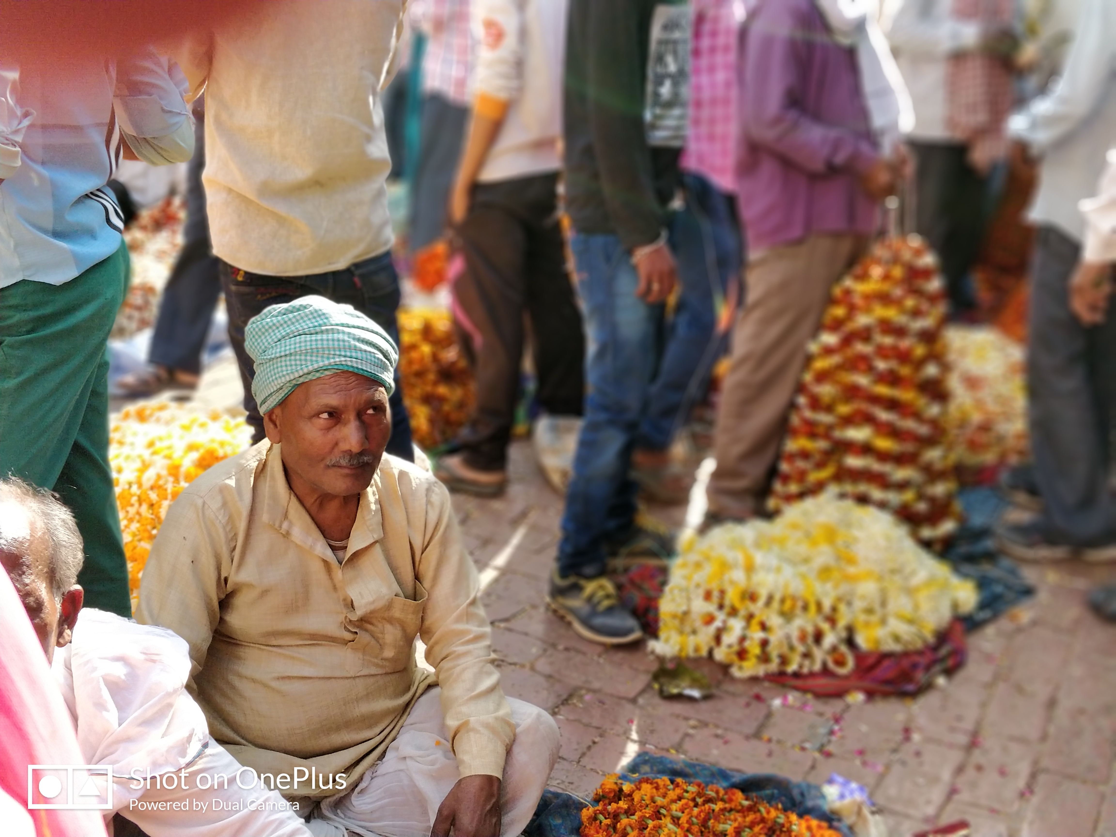 Flower Market in Varanasi