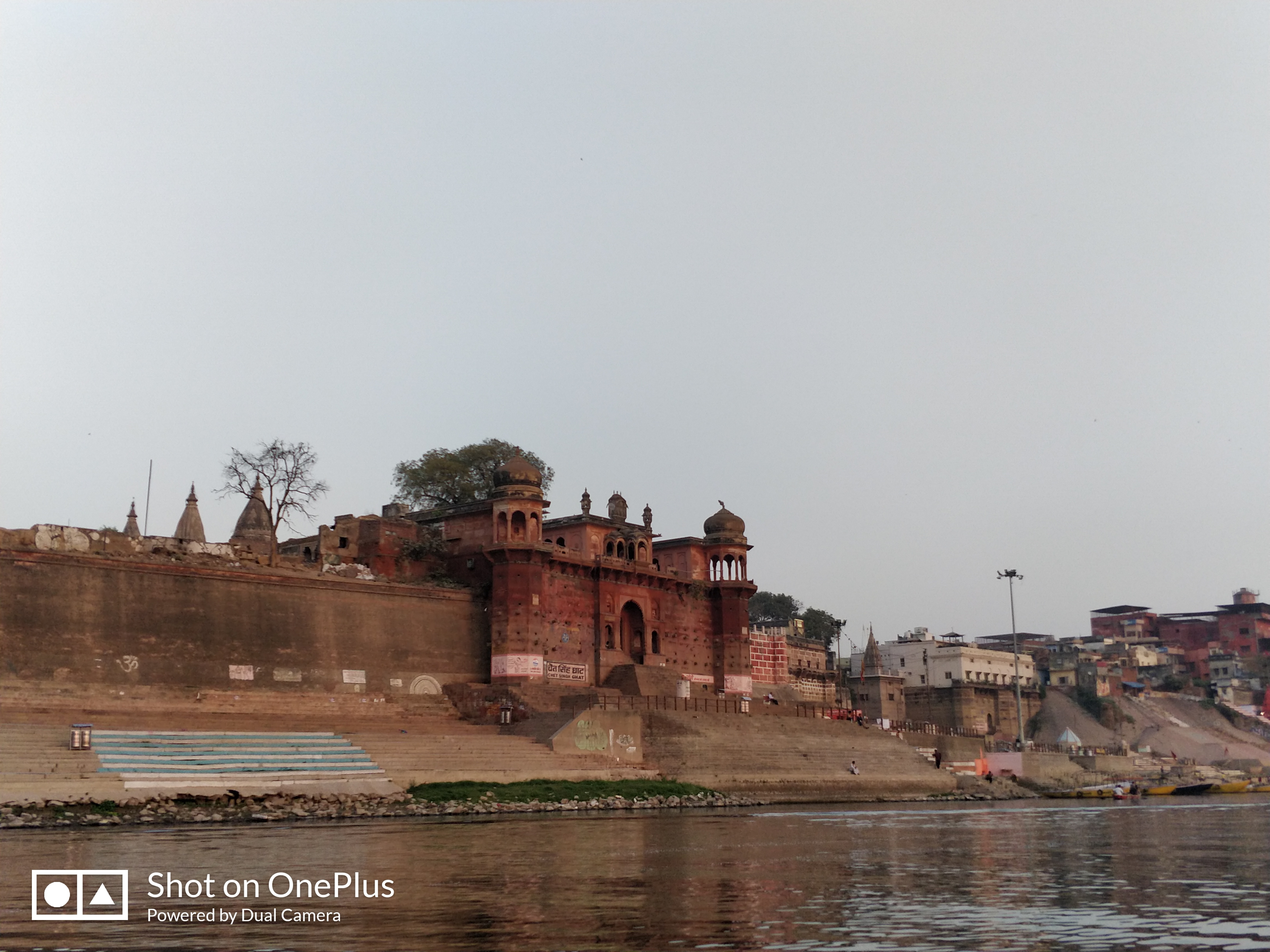 A shot at one of the ghats early morning
