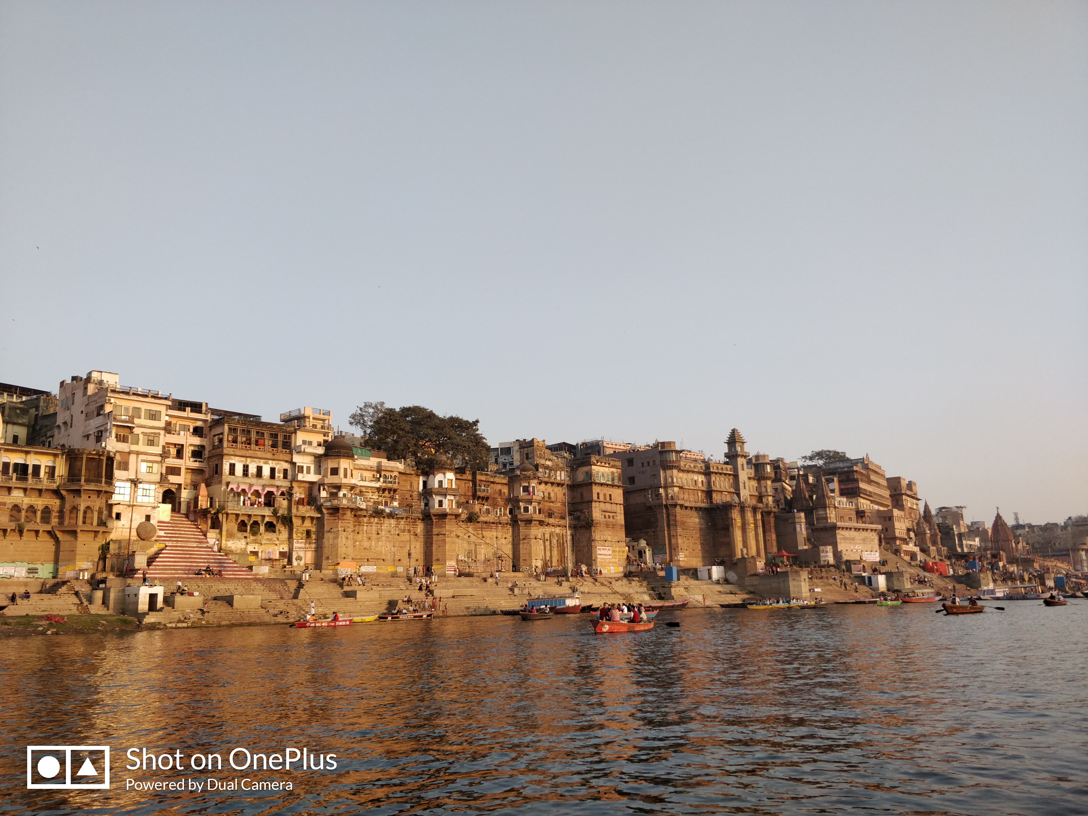 View of Ghats from Ganga River