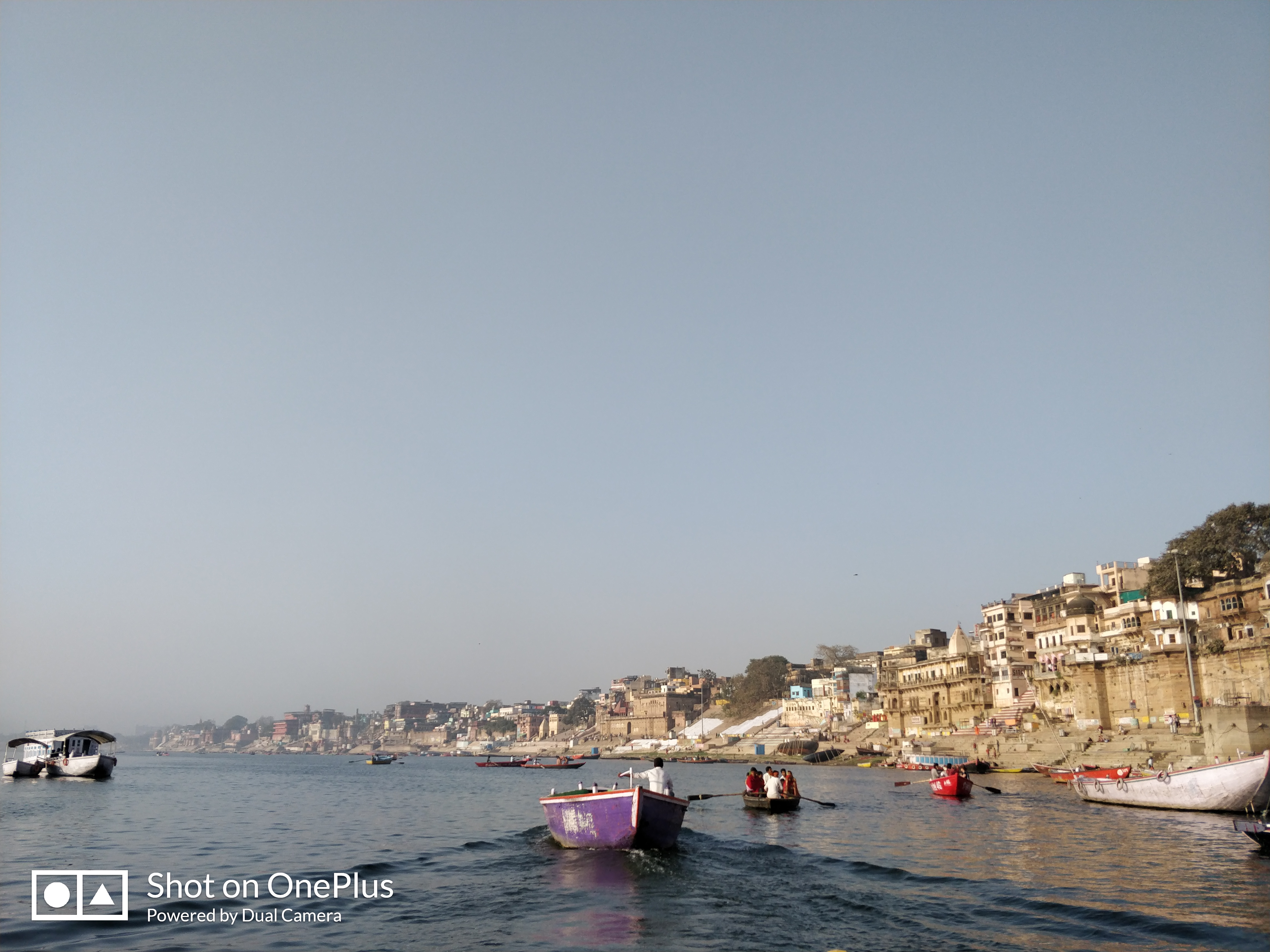 Early Morning Boat Ride on River Ganga