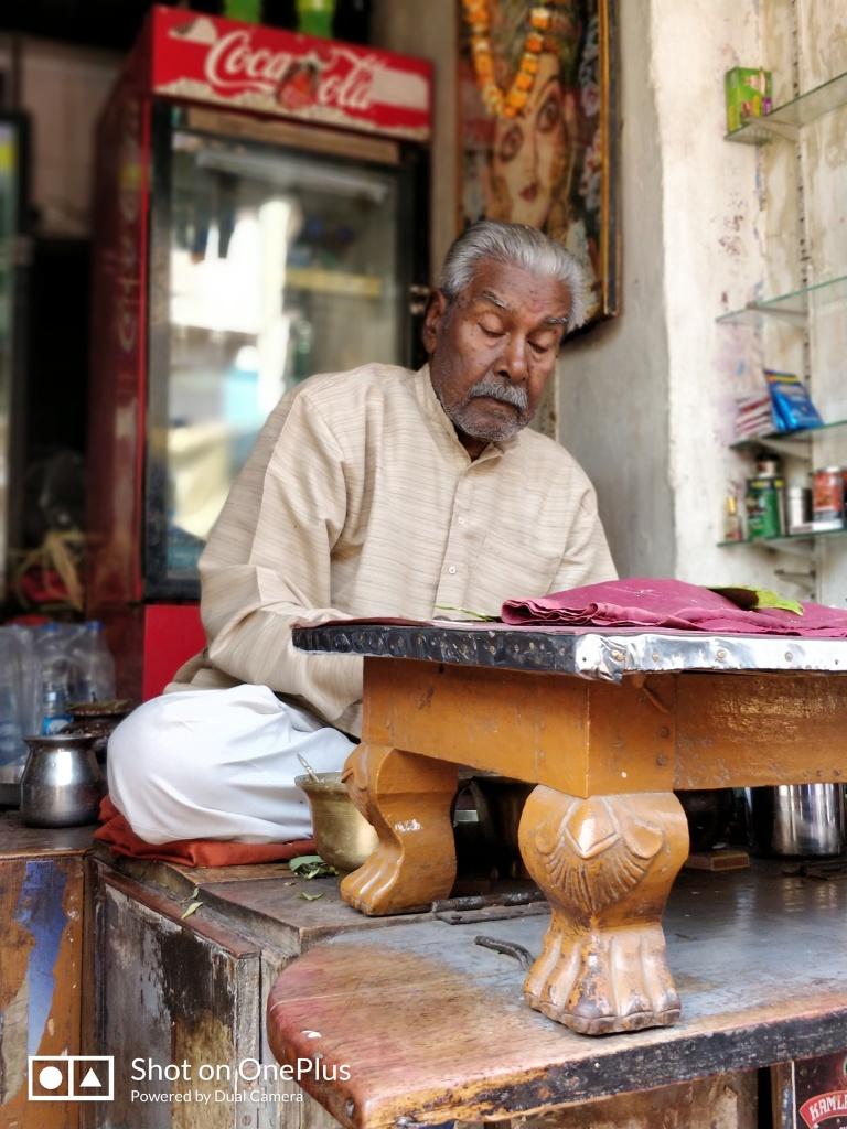 Banarasi Paan Maker in Varanasi