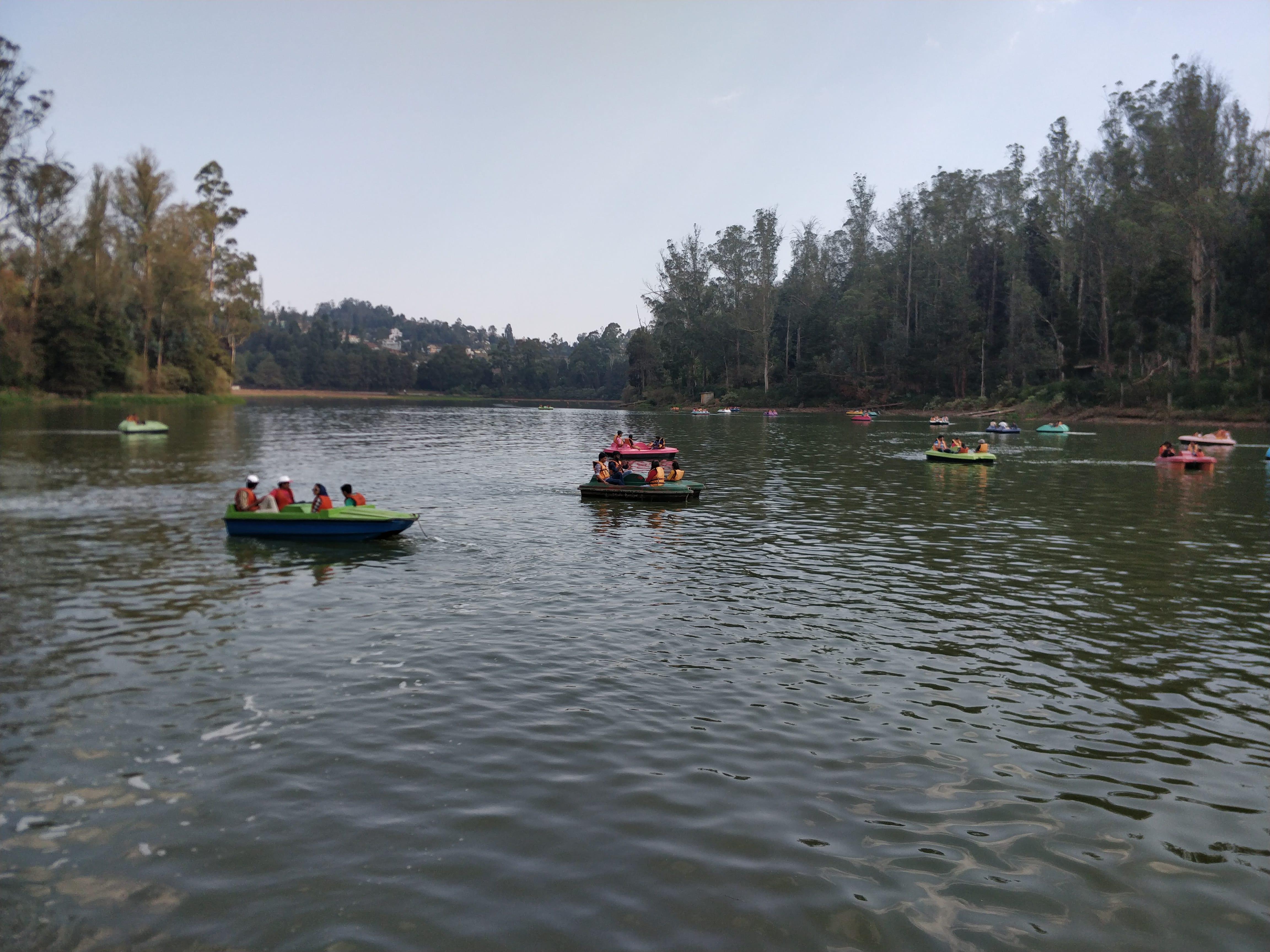 Boating at Ooty Lake