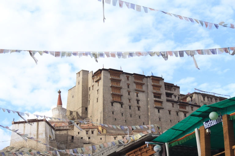 View of Leh Palace from leh Market