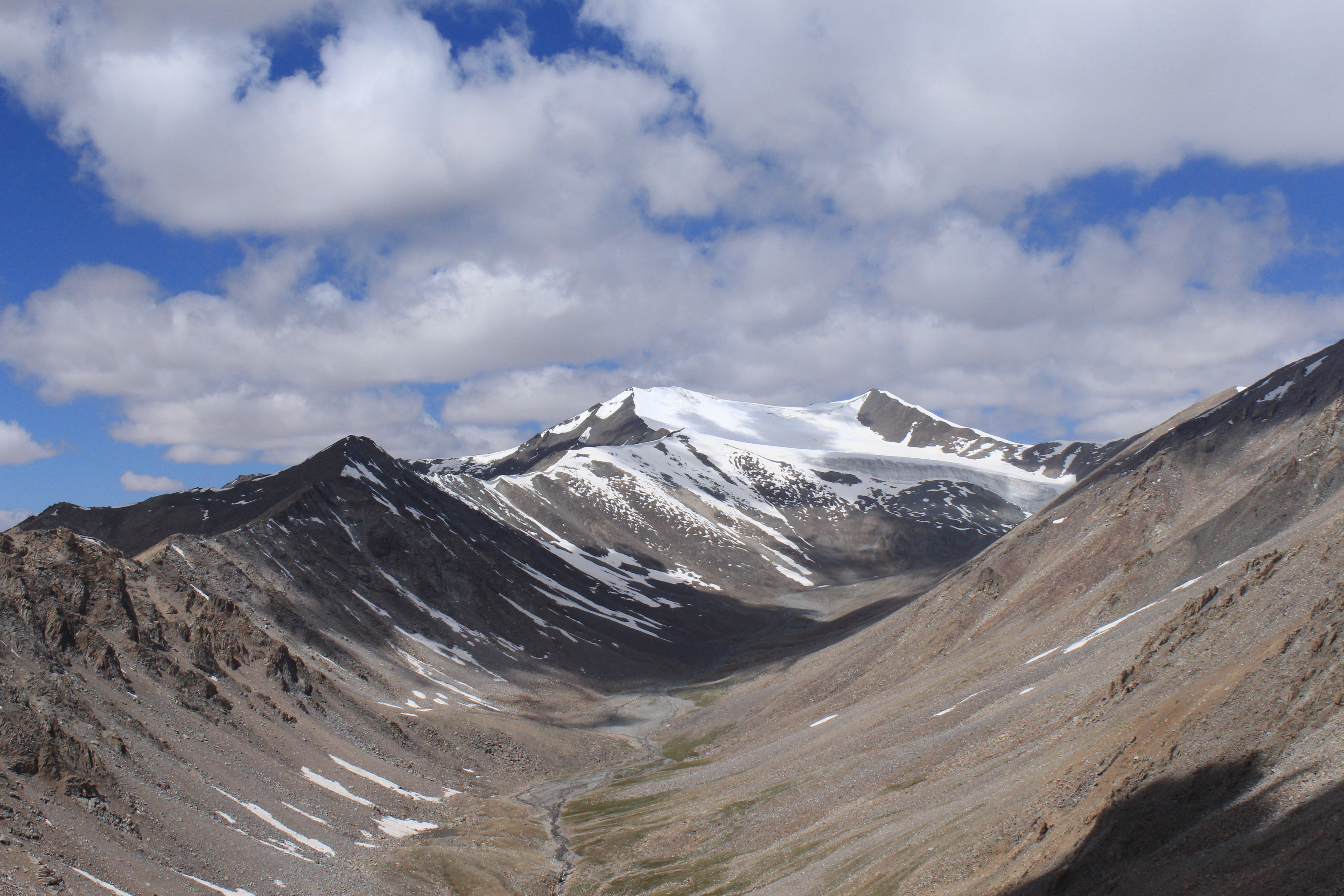 Beautiful mountain near Khardung La