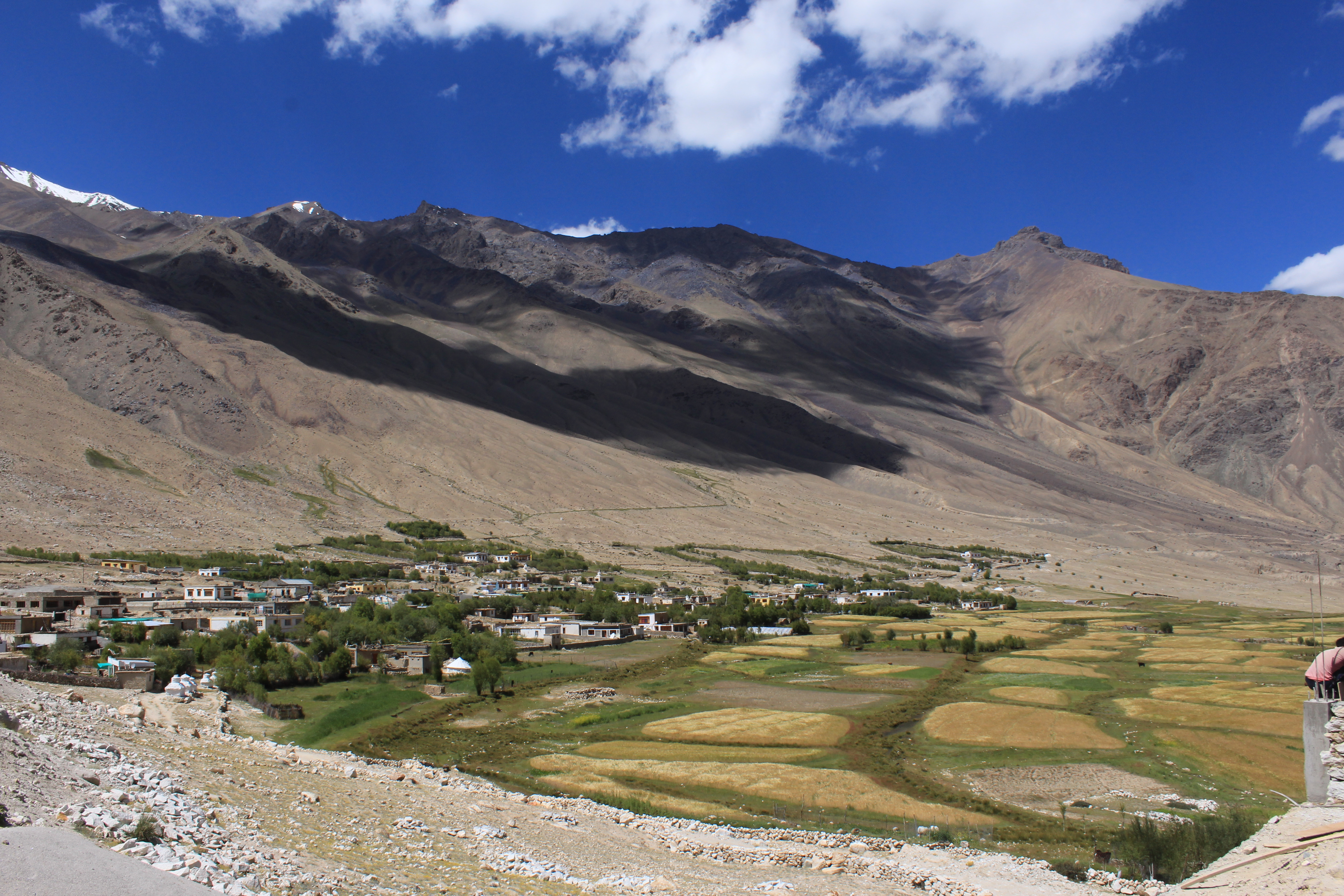 Khardung Village - Distant View