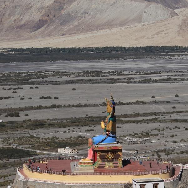 Maitreya Buddha Statue from Diskit Monastery