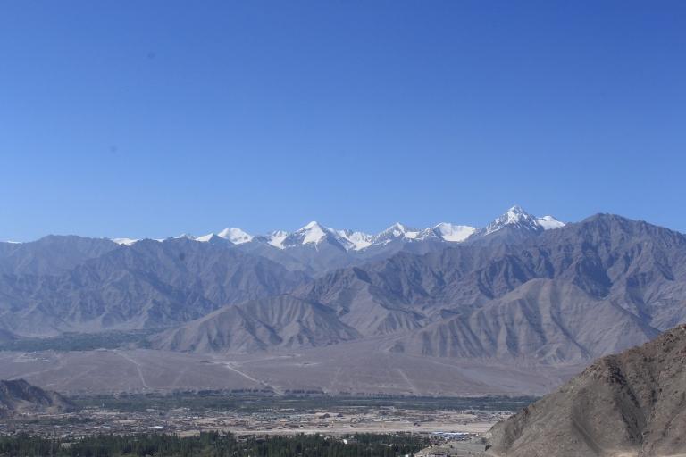 Stok Kangri Range from Leh