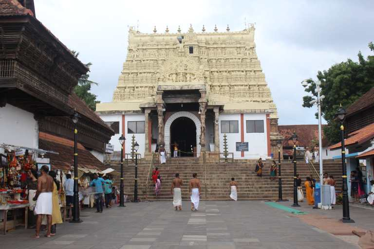 The Temple Gopuram - A closer view