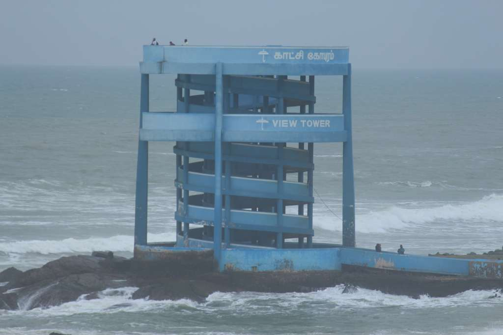Sunset View Tower at Kanyakumari